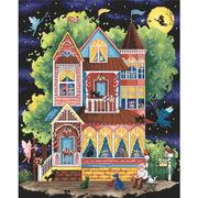 "Набор для вышивания крестом Letistitch ""Fairy tale house"""