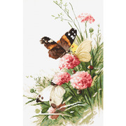"Набор для вышивания крестом Letistitch ""Butterflies in the field"""