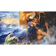 "Набор для вышивания крестом Letistitch ""Mermaid kiss"""
