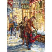 """Набор для вышивания крестом Letistitch """"Christmas expectation"""""""