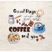 """Набор для вышивания крестом Letistitch """"Coffee Time"""""""