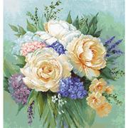 """Набор для вышивания крестом Luca-S """"Floral bouquet"""""""