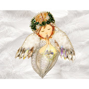 """Набор для вышивания бисером Образа в каменьях """"Ангел любви"""""""