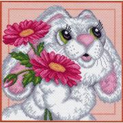 """Набор для вышивания крестом Матрёнин посад """"Зайчонок"""""""