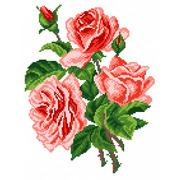 """Набор для вышивания крестом Матрёнин посад """"Розы"""""""