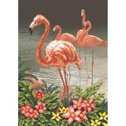 """Набор для вышивания бисером Матрёнин посад """"Фламинго"""""""