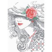 """Набор для вышивания крестом Риолис """"Таинственная роза"""""""