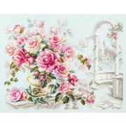 """Набор для вышивания крестом Чудесная игла """"Розы для герцогини"""""""