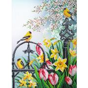 """Набор для вышивания бисером Паутинка """"Цветы весны"""""""