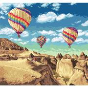 "Набор для вышивания крестом Letistitch ""Balloons over Grand Canyon"""