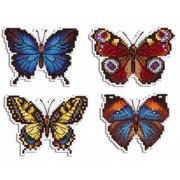 """Набор для вышивания крестом Жар-птица (от МП-Студии) """"Яркие бабочки"""""""