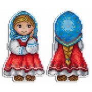 """Набор для вышивания крестом М.П. Студия """"Внучка Машенька"""""""