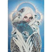 """Канва/ткань с нанесенным рисунком Конёк """"Соколиный оберег"""""""