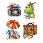 """Набор для вышивания крестом Жар-птица (от МП-Студии) Теплый отпуск"""""""