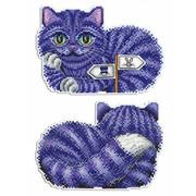 """Набор для вышивания крестом Жар-птица (от МП-Студии) """"Чеширский кот"""""""