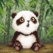 """Набор для выкладывания мозаики Brilliart (от МП Студии) """"Малыш-Панда"""""""