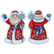 """Набор для вышивания крестом Жар-птица (от МП-Студии) """"Дедушка Мороз"""""""