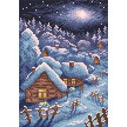 """Набор для выкладывания мозаики Brilliart (от МП Студии) """"Зимний пейзаж"""""""