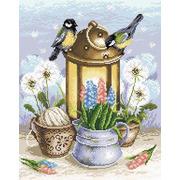 """Набор для выкладывания мозаики Brilliart (от МП Студии) """"Искра весны"""""""