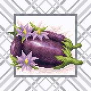 """Набор для выкладывания мозаики Brilliart (от МП Студии) """"Яркий баклажан"""""""