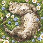 """Набор для выкладывания мозаики Brilliart (от МП Студии) """"Ромашковое лето"""""""