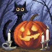 """Набор для выкладывания мозаики Brilliart (от МП Студии) """"Веселый хеллоуин"""""""