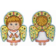 """Набор для вышивания крестом Жар-птица (от МП-Студии) """"Ангел-хранитель"""""""