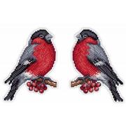 """Набор для вышивания крестом Жар-птица (от МП-Студии) """"Вестник зимы"""""""