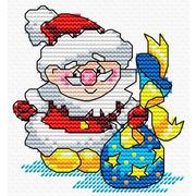 """Набор для вышивания крестом Жар-птица (от МП-Студии) """"Новый год спешит на встречу"""""""