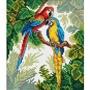 """Набор для вышивания крестом Жар-птица (от МП-Студии) """"Яркких красок хоровод"""""""