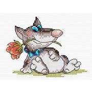 """Набор для вышивания крестом Жар-птица (от МП-Студии) """"Романтик"""""""