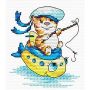 """Набор для вышивания крестом Жар-птица (от МП-Студии) """"Морячок"""""""