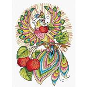"""Набор для вышивания крестом Жар-птица (от МП-Студии) """"Сказочная птица"""""""