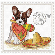 """Набор для вышивания крестом Жар-птица (от МП-Студии) """"Мой верный друг. Мексика"""""""