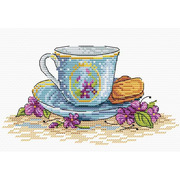 """Набор для вышивания крестом Жар-птица (от МП-Студии) """"Печенье и завтрак"""""""