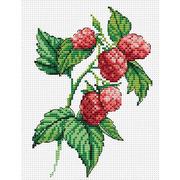 """Набор для вышивания крестом Жар-птица (от МП-Студии) """"Веточка малины"""""""
