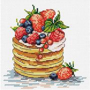 """Набор для вышивания крестом Жар-птица (от МП-Студии) """"К завтраку"""""""