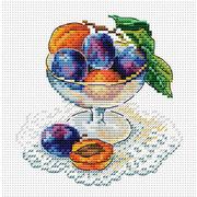 """Набор для вышивания крестом Жар-птица (от МП-Студии) """"Вкус ягод"""""""