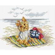 """Набор для вышивания крестом Жар-птица (от МП-Студии) """"Маленький охранник"""""""