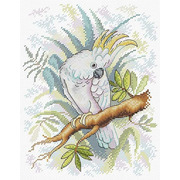 """Набор для вышивания крестом Жар-птица (от МП-Студии) """"Житель джунглей"""""""
