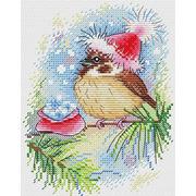"""Набор для вышивания крестом Жар-птица (от МП-Студии) """"Новогодний урожай"""""""