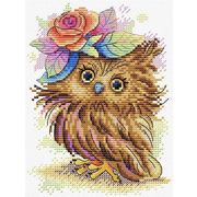 """Набор для вышивания крестом Жар-птица (от МП-Студии) """"Очаровательная совунья"""""""