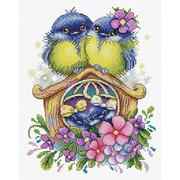 """Набор для вышивания крестом Жар-птица (от МП-Студии) """"Счастливое семейство"""""""