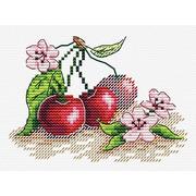 """Набор для вышивания крестом Жар-птица (от МП-Студии) """"Сочная вишня"""""""