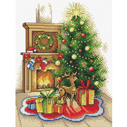 """Набор для вышивания крестом Жар-птица (от МП-Студии) """"Рождественский вечер"""""""