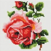 """Набор для выкладывания мозаики Белоснежка """"Изящная роза"""""""