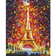 """Набор для выкладывания мозаики Белоснежка """"Париж-огни Эйфелевой башни"""""""