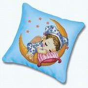 """Набор для вышивания крестом Белоснежка подушки """"Сладкий сон"""""""