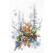 """Набор для вышивания крестом Чудесная игла """"Дух зимнего леса"""""""