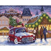 """Набор для выкладывания мозаики Brilliart (от МП Студии) """"Рождественская ярмарка"""""""